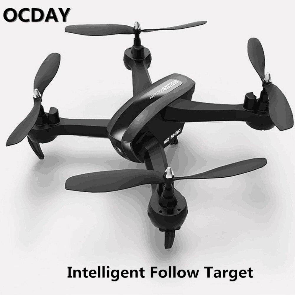 SH7 1080 P камера квадрокоптера drone WI-FI FPV HD RC комплект высота зависания Geature селфи интеллектуальные следовать целевой RC