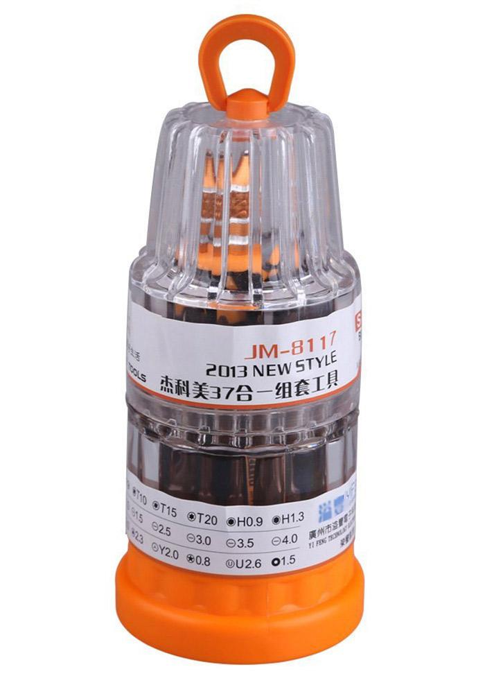 JAKEMY JM - 8117 Multi-use 37 in 1 Screwdriver Bit Kit Repair Tools for Cellphone PC