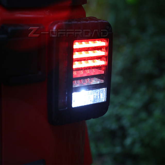 For Jeep Wrangler JK 2007~2016 Easy Install USu0026EU Version LED Tail Lights  Assembly With