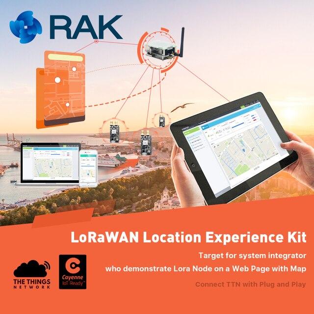 IoT Solution Experience Kit,LoraWan Location system, LoRa Node Tracker Board GPS Module Raspberry Pi, 433/868/915/AS923