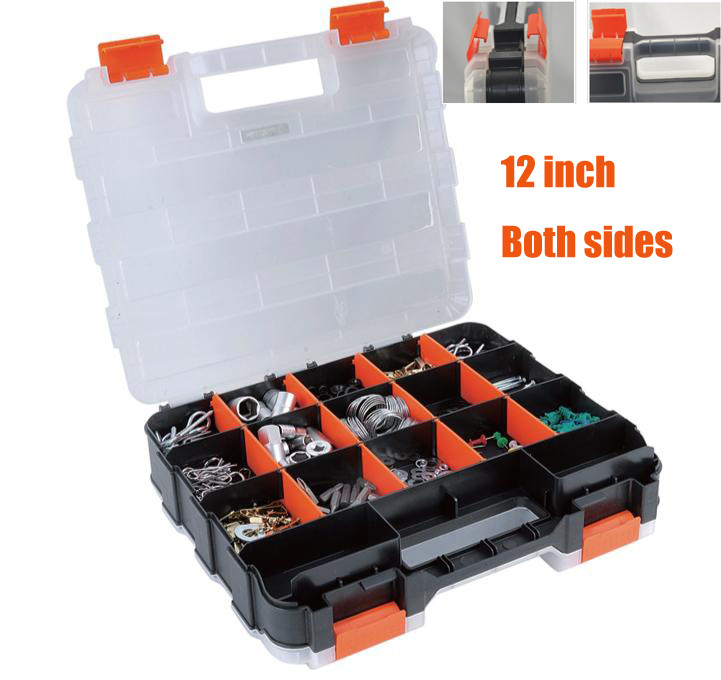 12 inch high grade/both sides/ plastic parts boxes storage compartments storage tools electronic components storage box-in Tool Parts from Tools on ...  sc 1 st  AliExpress.com & 12 inch high grade/both sides/ plastic parts boxes storage ...