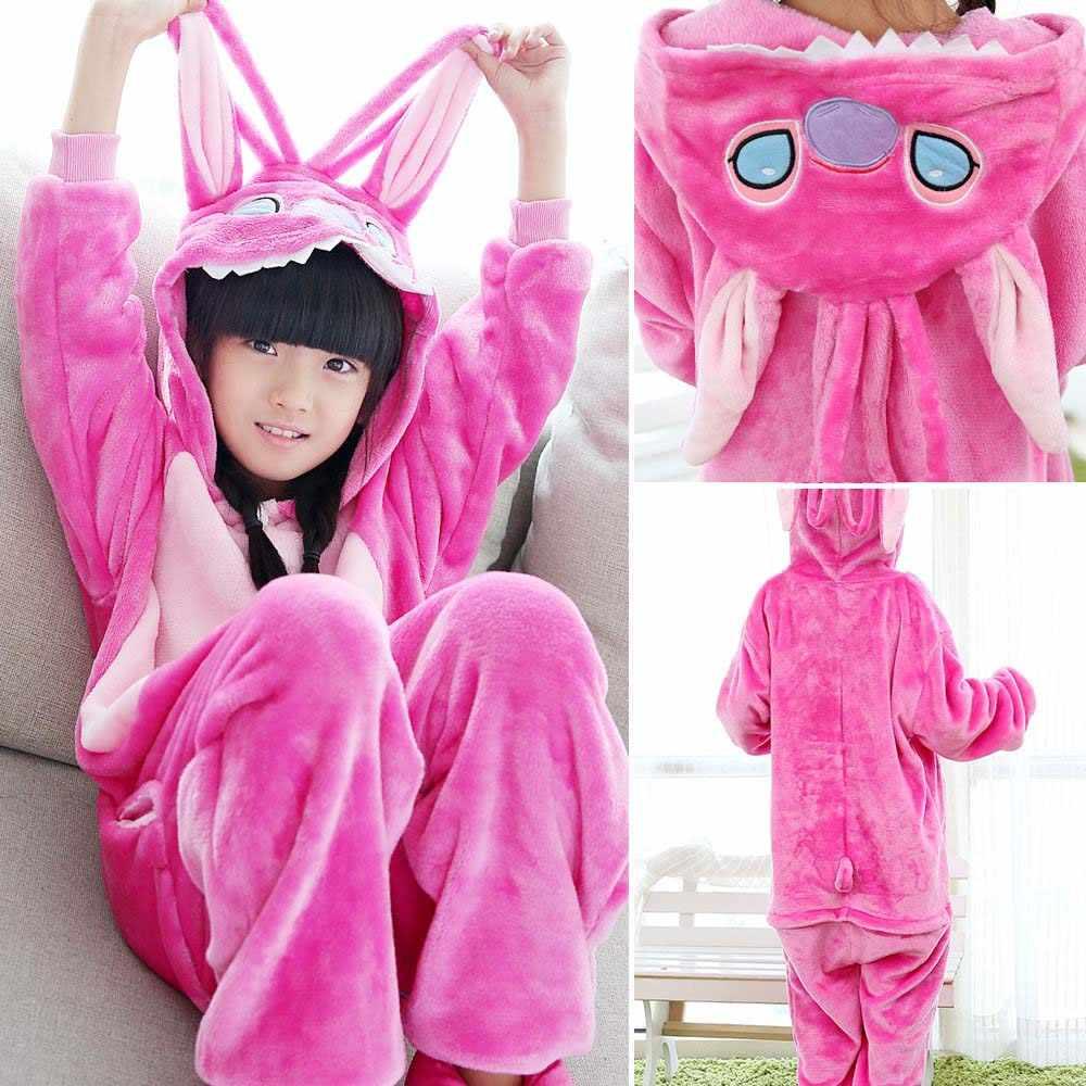 0c2c89a9e2d5f Kids Kigurumi Raccoon Pajamas Sets Boys Girls Fleece Animal Panda Onesie  Costumes Sleepwear Christmas Cosplay Pyjamas Jumpsuit