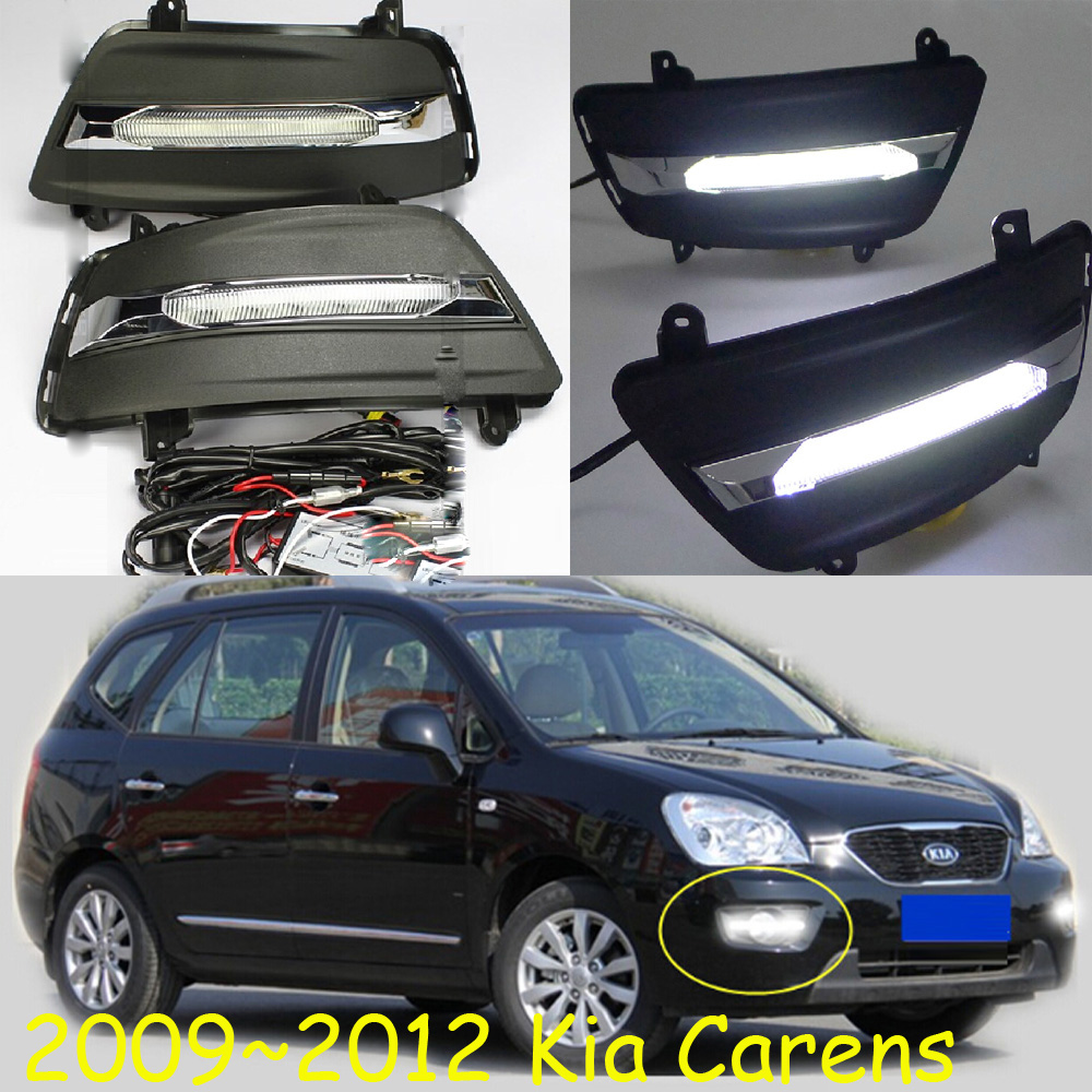ФОТО 2009~2012 KIA Carens daytime light,kia rio,sorento,Free ship to your door!LED,Carens fog light,kia ceed,2ps/set;kia cerato