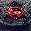 Hot! Chegam novas Moda Superman Snapback Caps Chapéus de Hip Hop Para Homens Mulheres Ocasional do Verão Ao Ar Livre Boné de Beisebol Chapéu Frete Grátis