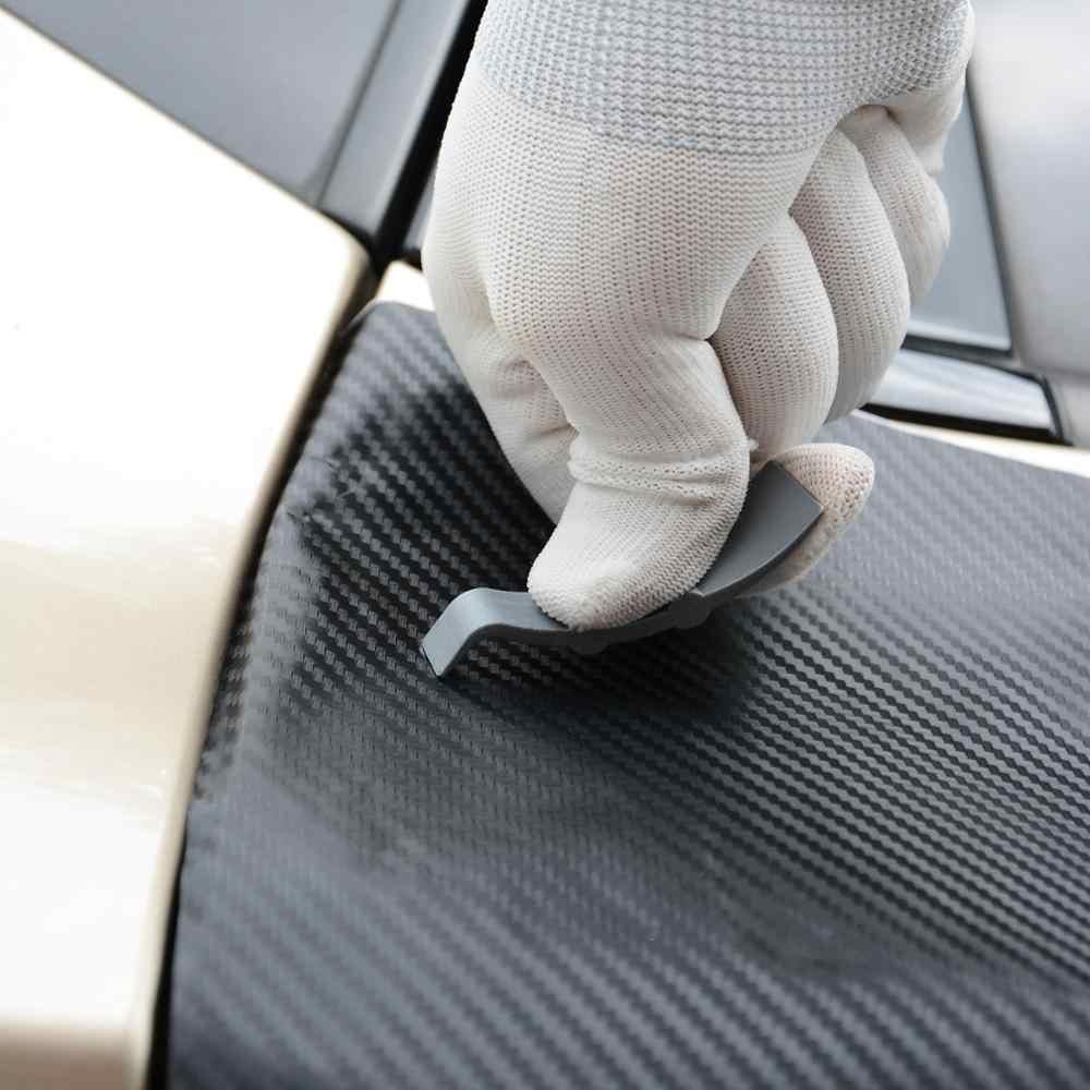 Foshio 90 Derajat Vinyl Wrap Mobil Serat Karbon Tongkat Squeegee Pengikis Auto Foil Stiker Film Pembungkus Menginstal Alat Warna Jendela