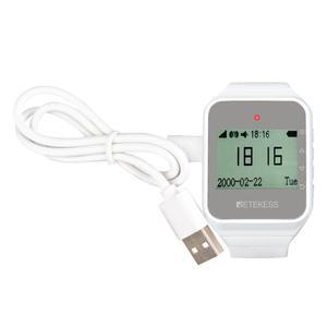 Image 3 - RETEKESS Беспроводная система вызова официанта обслуживание клиентов Ресторан 2 шт TD108 часы приемник + 15 кнопок вызова беспроводные пейджеры
