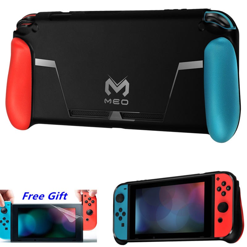 Nintend Switch Protector Case Guard Cover TPU Shell Handle Grip w Game Card Slot For NintendoSwitch Nitendo NS Accessories in Cases from Consumer Electronics