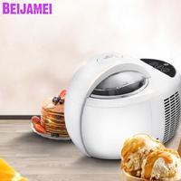 BEIJAMEI home use automatic ice cream machine large capacity 1L electric fruit ice cream maker machine price