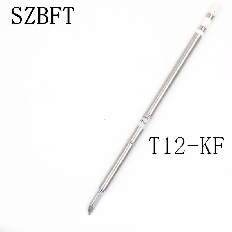 SZBFT 1pcs good quality T12-KF Electric Soldering Irons Solder Tips For Hakko FX-950/FX-951 station
