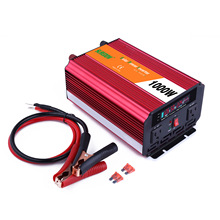 1000W Solar Inverter Multifunctional Travel Power Supply Control Car Power inverter DC 12V TO AC 220V Circuit protection