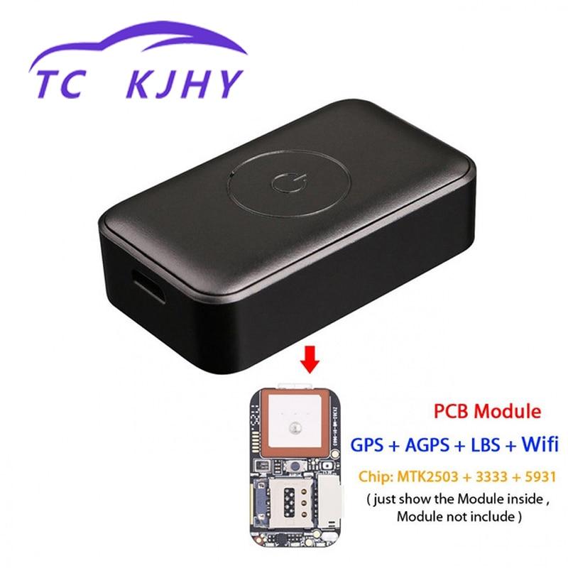 Alarme de Vibration GPS localisateur polymère batterie Mini GPS Tracker voiture sans fil traqueur enfant âgé animal de compagnie localisation affichage de suivi