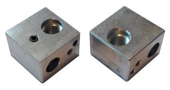 SWMAKER 2pcs MK10 Nozzle Block - For M7 Nozzles - Wanhao D4 DS4 i3 heater block фото