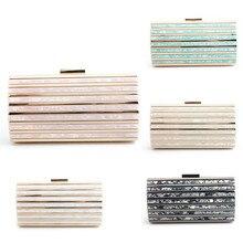 luxury handbags women bags designer wallet clutch evening bag acrylic shell shiny shoulder crossbody colorful top
