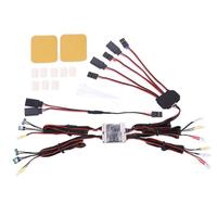 For 1/10 TRX4 RC Car LED Lights Control System For Traxxas TRX 4 Ford Bronc 1set of LED Lights for Traxxas TRX4 Bronco RC Truck