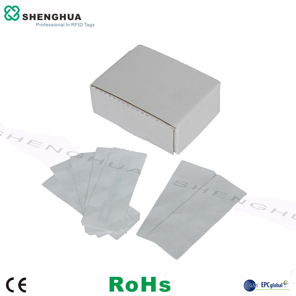 200pcs/box Cheap Price Adhesive Waterproof UHF RFID Tag Label Car Sticker Anti Theft For ETC High Railway Access Control