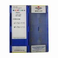 50 Uds RDKW0803MO YBG202 RDKW08 RDKW 0803MO R4 ZCC. CT diamante marca carburo cementado CNC herramientas de corte insertos