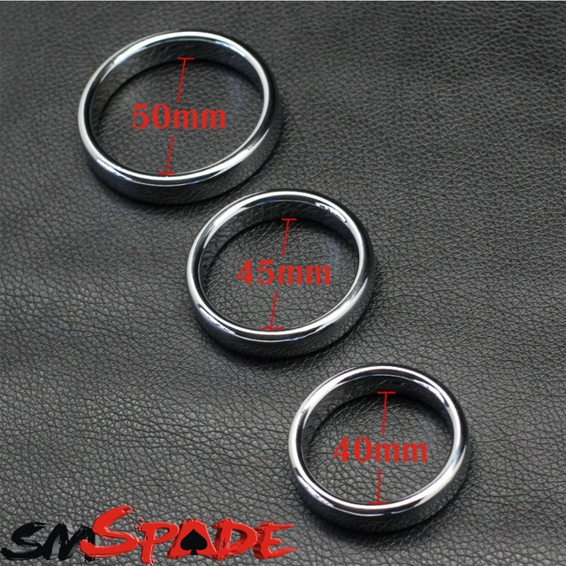 Smspade metal cock ring, Alloy penis ring , sex delay ring for men / sex products ,male penis sex toy