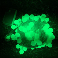 10m Globes Ball Baby S Breath Colorful LED String Lights Outdoor Indoor Decorations Holiday Garden Fairy