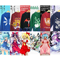 Anime Touhou Project Cirno Hakurei Reimu KONPAKU YOUMU Cosplay Unisex Inverno Quente engrosse Com Capuz Jaqueta Casaco