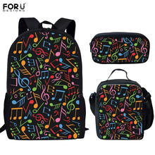 FORUDESIGNS School Bag Sets for Children Backt to School Fas