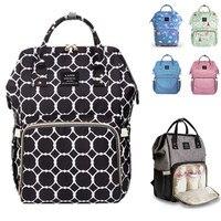 LAND Diaper Bag Baby Care Organizer Large Diaper Bag Backpack Maternity Bags For Mother Handbag Baby Landuo Nappy Backpack