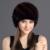 Chapéu de Pele de vison Para As Mulheres Com Natural Real Fur Cap Feminino das mulheres Inverno Chapéus de Pele De Vison Verdadeiro Tricô Caps Chapéu Abacaxi Segurar ouvidos