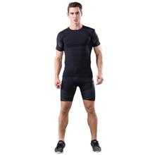 Brand T Shirt shorts Men Compression Tights Underwear Sets Crossfit