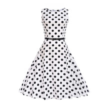 ecebe274067 2019 Casual Sleeveless A-line Dots Girl Dress with Sashes 12 13 14 15 16 18  20 Years Big Sizes Children Clothing Teenage Dress