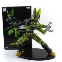 100% New Banpresto Dramatic Showcase Dragon Ball Z Cell PVC Action Figure Toy Collective Model Toy 18cm