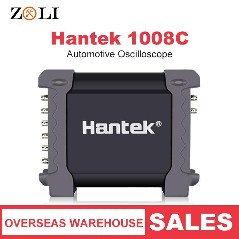 Hantek 1008C Programmable Digital Multimeter Automotive Oscilloscope 8 Channels PC Storage Osciloscopio USB Diagnostic 1008C