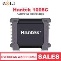 Hantek 1008C プログラマブルデジタルマルチメータ自動車オシロスコープ 8 チャンネル Pc 収納 Osciloscopio USB 診断 1008C