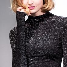 1586131e600900 Shining Women Blouses Elegant Long Sleeve Stand Collar Office Blouse Shirt  Casual Tops Plus Size Blusas