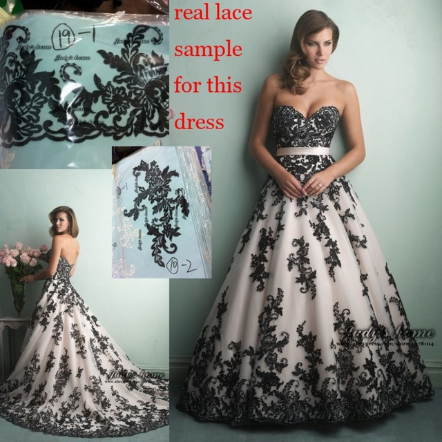 Elegant Sweetheart Neck Ball Gown Wedding Dresses Lace Wedding Dress ...