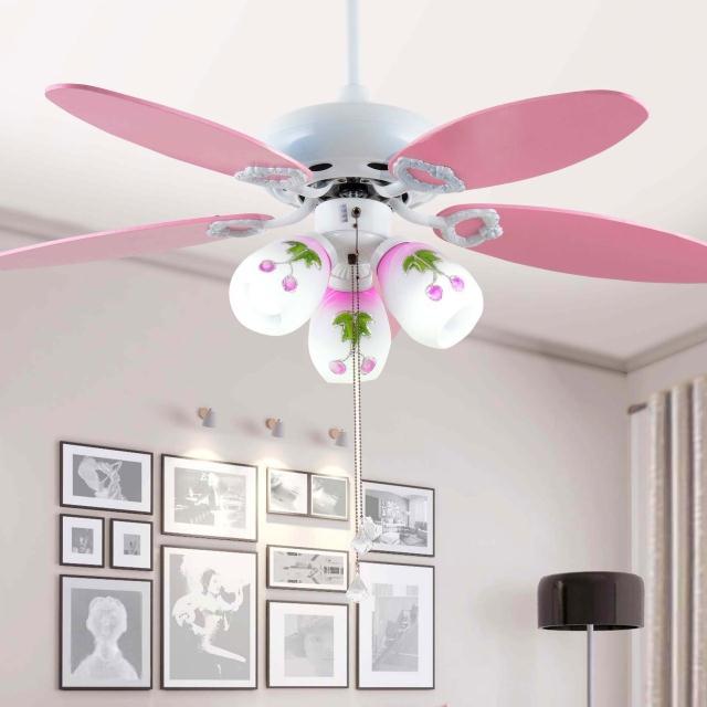 Attractive Childrenu0027s Room Ceiling Fan Lights Color The Simple Cartoon Child Bedroom  Lamp Ceiling Fan Lights Boy