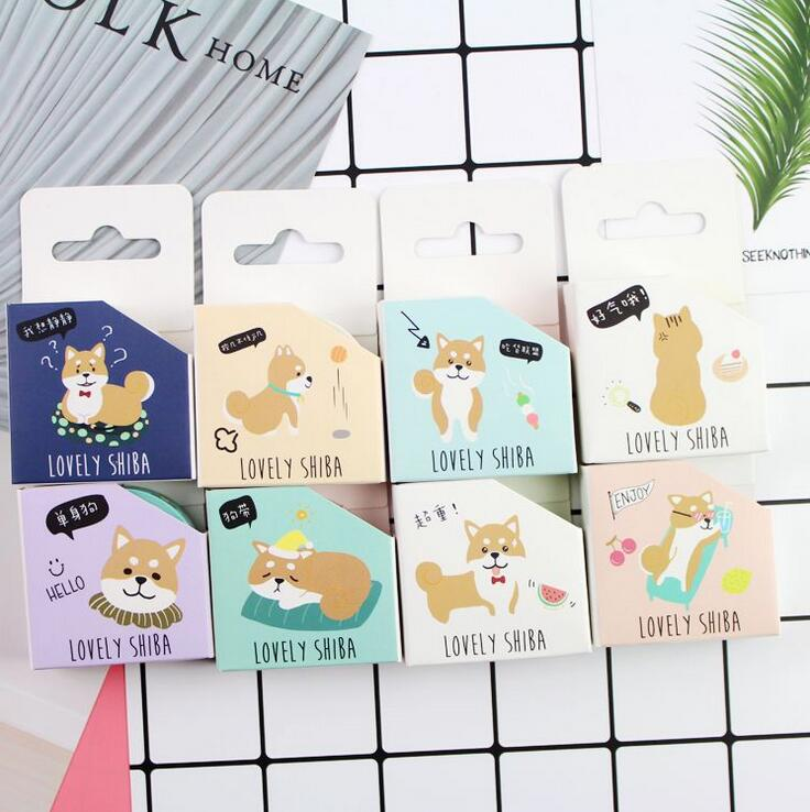 Hello Shiba Washi Tape DIY Scrapbooking Sticker Label Masking Tape School Office Supply