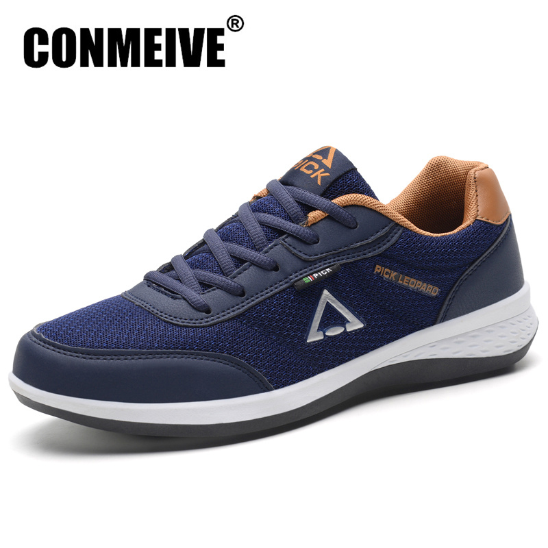 Hot Breathable Mesh Casual Shoes MenComfortable Light Summer Man Sneakers Lace-Up Fashion Brand Flat Shoe Male Size 38-45 dekabr brand 2018 summer shoes new arrivals lace up casual shoes mesh breathable light weight male soft men shoes big size 38 45