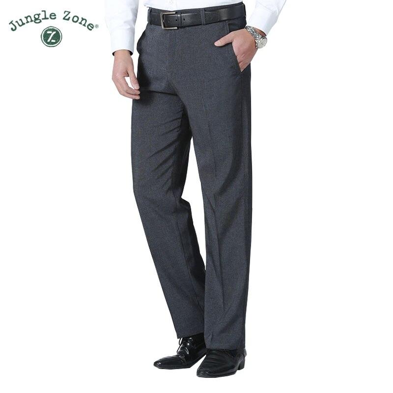 Для Мужчин's Штаны Лето Бизнес Для мужчин деловой костюм Штаны Свадебные Жених брюки Для мужчин одежда костюм брюки чистый цвет