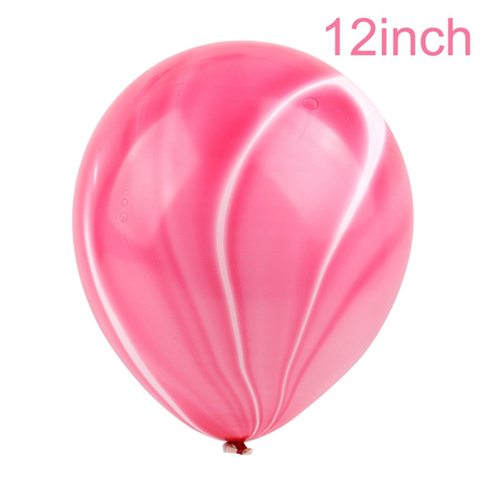 11pcs Unicorn Balloons Birthday Party Pink Rainbow Agate Balloon Kids Party Favors Gifts Baby Shows Backdrop Decor Cartoon Hat Cartoon Hats