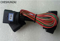 CHESHUNZAI PARA VW HID Xenon 10 a 14 Pines del Conector del Adaptador Para VW Escarabajo Coche modificación