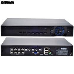 GADINAN AHD 8CH 1080N DVR/Hybrid: 4 * 1080N (analogowy) + 4*960P (sieć)/tylko sieć: 16*1080 P; 4*5M AHD TVI IP 4 w 1 obsługuje ONVIF
