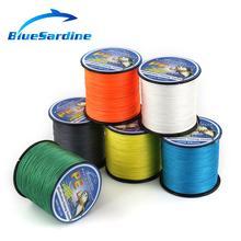 BlueSardine 300M Multifilament PE Braided Fishing Line Super Strong 4 Strands Braid Fishing Wires 12LB – 90LB