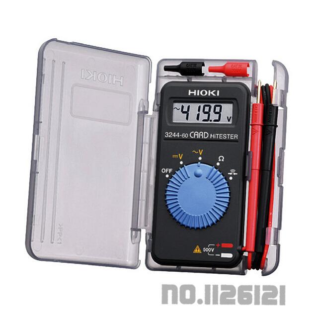 100% Feito no Hioki HiTester 3244-60 Cartão Multímetro Digital Frete grátis