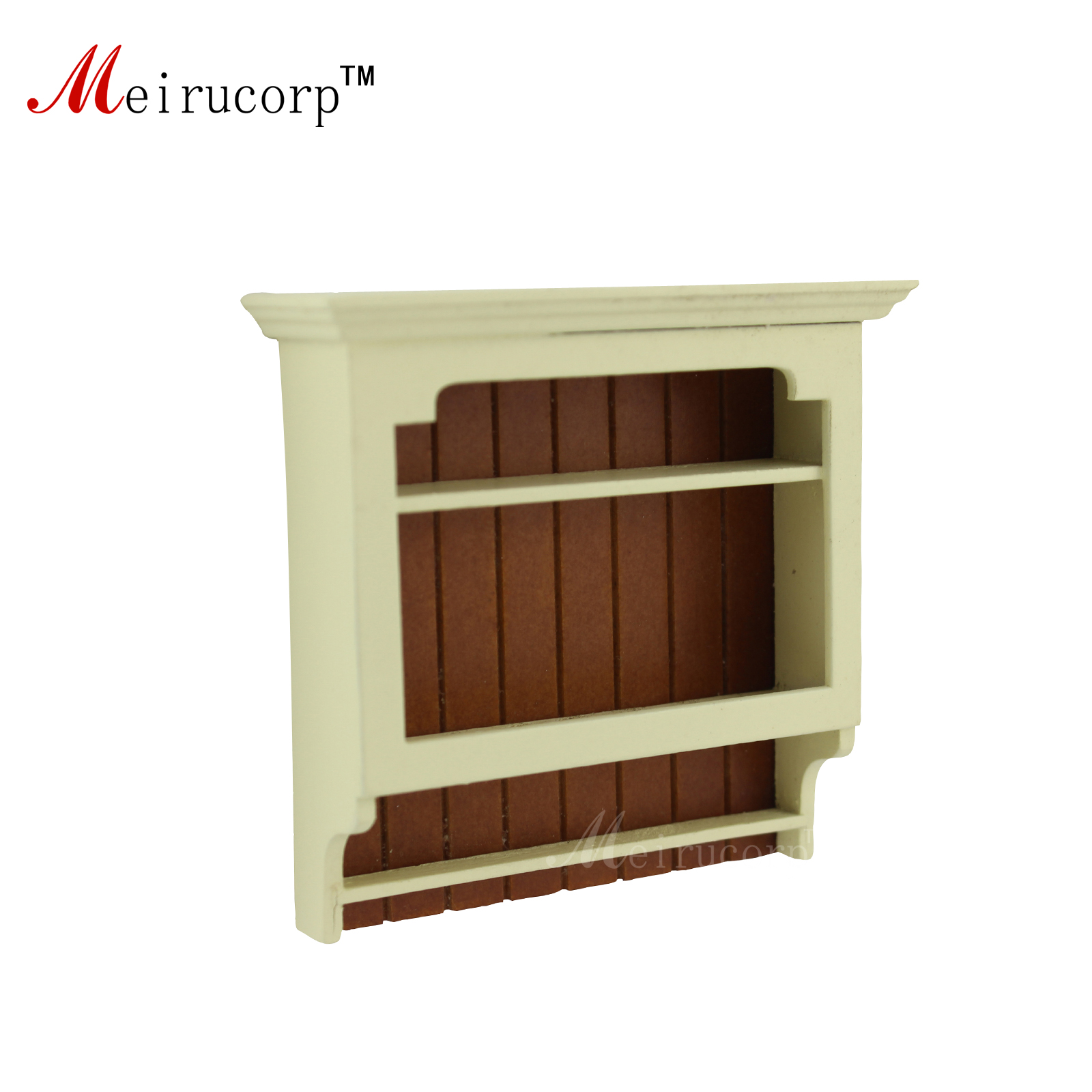 Dollhouse 1:12 scale Miniature furniture Wall mounted Shelve 10803