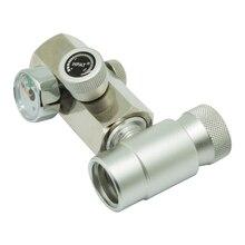 שלושה סוגים סודה זרם Homebrew ערכת CGA320 או W21.8 CO2 צילינדר מילוי מתאם מחבר