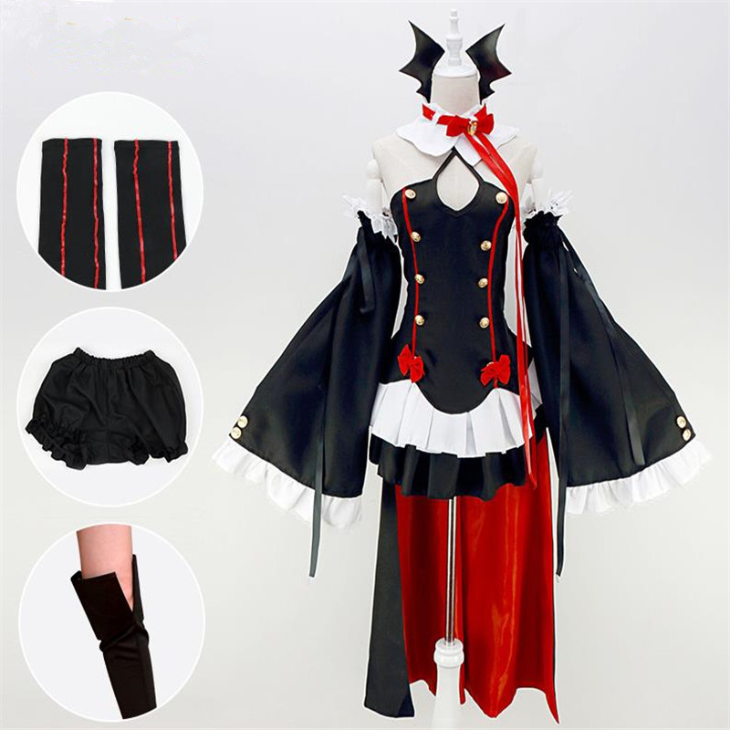 Anime Seraph of the end Cosplay Krul Tepes Halloween dresses Free postage