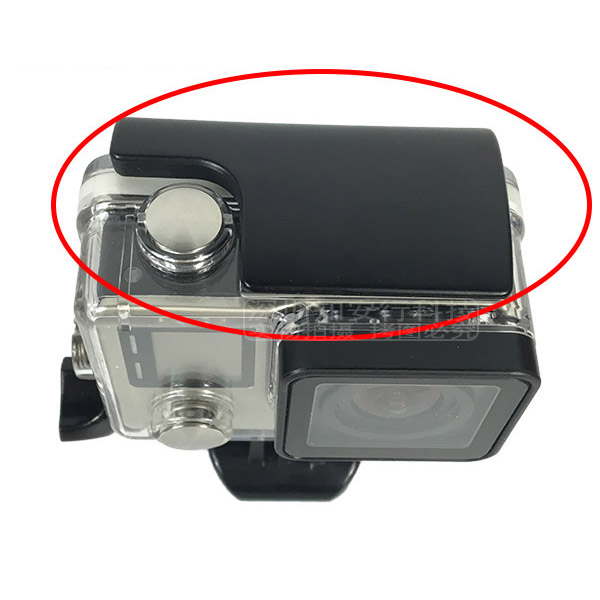 For Gopro Acessorios Plastic Lock Buckle Clip For Go Pro Hero 3+ 4 Waterproof And Protective Housing Case Cover Accessories