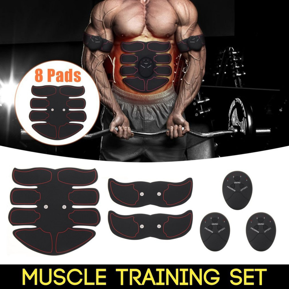 2018 Fat Burning Muscle Strengthen Device Intelligent Abdomen Training Massager Body Building Patch Abdominal Exercise Machine2018 Fat Burning Muscle Strengthen Device Intelligent Abdomen Training Massager Body Building Patch Abdominal Exercise Machine