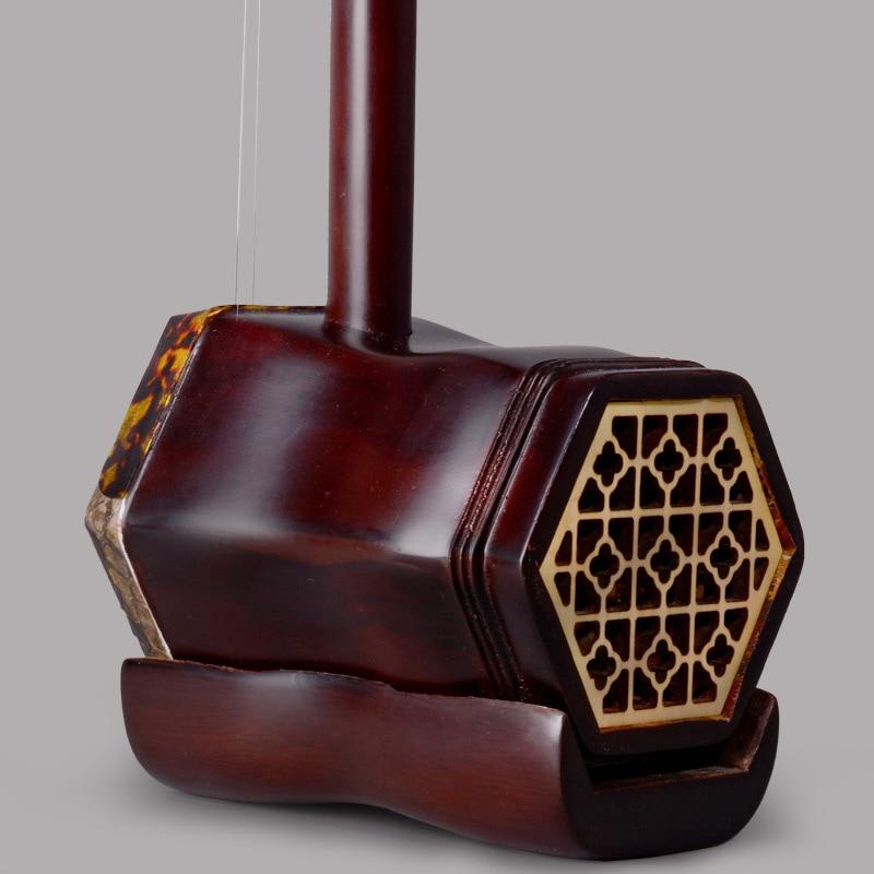 Instrumentos musicales de cuerdas de erhu palo de rosa chino de alta - Instrumentos musicales - foto 2