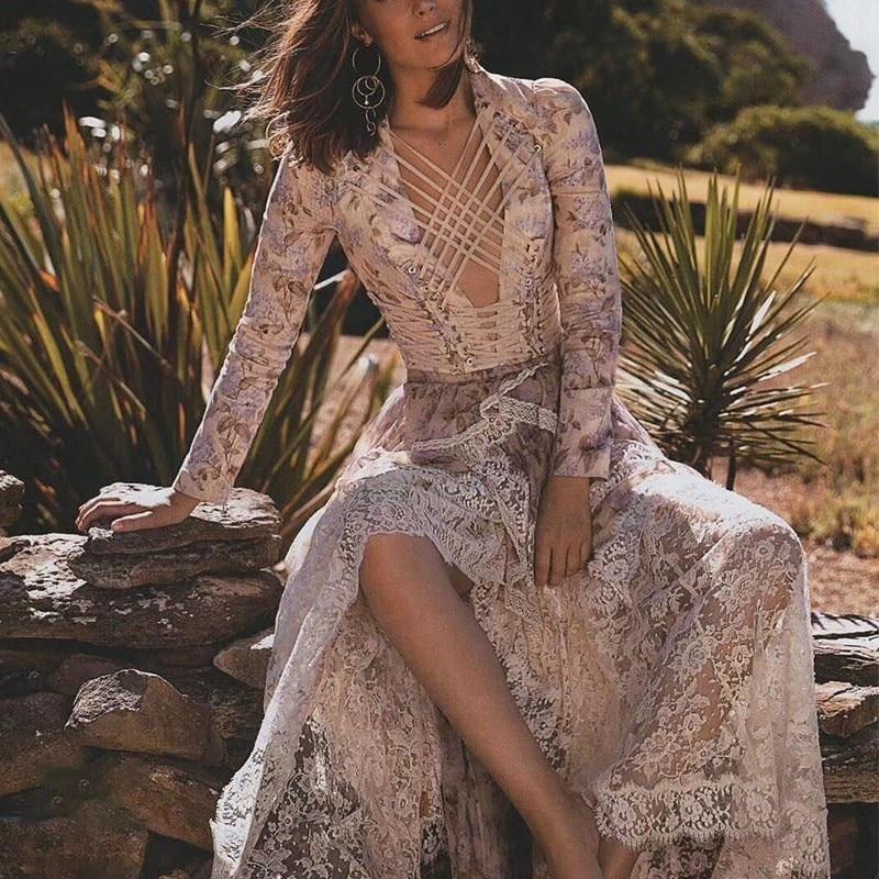Многожильный Лаванда цветочный белье Обрезанные лиф на шнуровке шелк Для женщин комплекты Opus уровня Асимметричная юбка Многоуровневая рюш