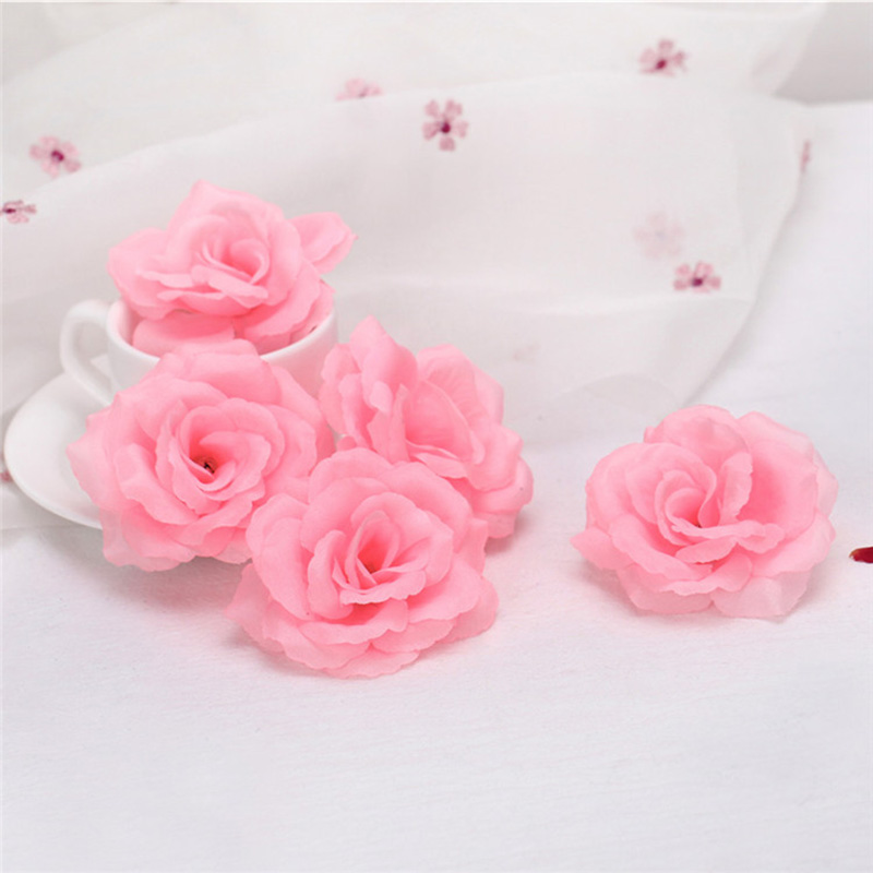 Beautiful Decorative Bouquet imulation Rose Birthday Party Decorative Faux Gifts Hair Accessories @LS MY0718